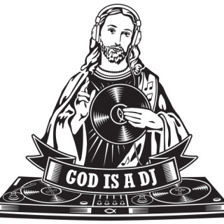 wall_decal_god_is_a_dj_s